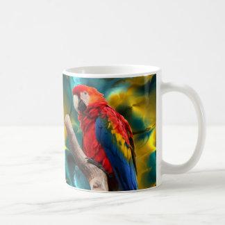 Tasse de l'art 1 de perroquet