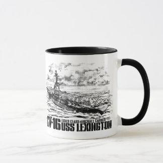 Tasse de Lexington de porte-avions