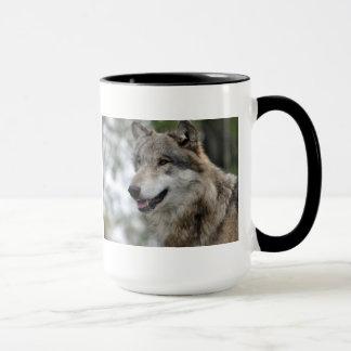 Tasse de loup gris