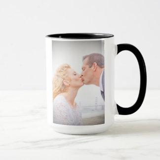 Tasse de mariage de Rachel et de John