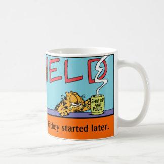 Tasse de matins de Garfield Logobox