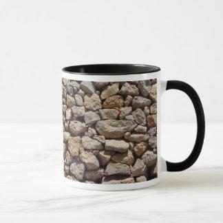 Tasse de mur en pierre