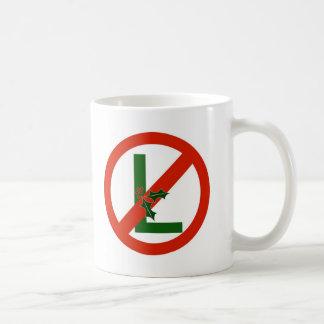 Tasse de Noël d'amusement de NO--l de Noel
