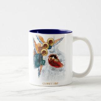 Tasse de Noël - paix sur le cadeau orthodoxe de la