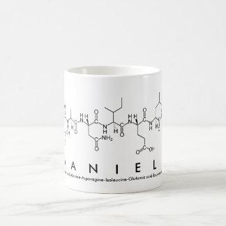 Tasse de nom de peptide de Daniela