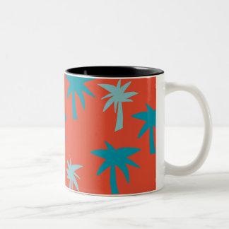 Tasse de palmier