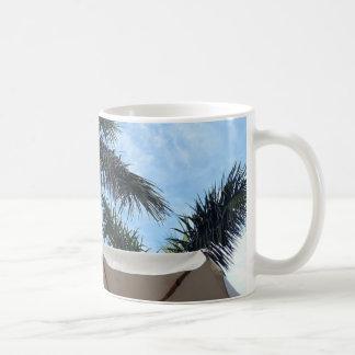 Tasse de palmier de Ténérife