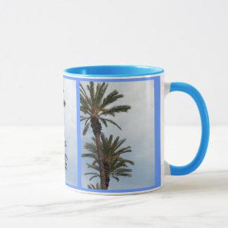 Tasse de palmiers de la Californie