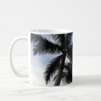 Tasse de palmiers de Ténérife