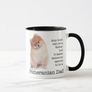 Tasse de papa de Pomeranian