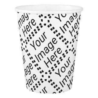 Tasse de papier (carrelée) gobelets en papier