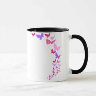 Tasse de papillon