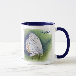 Tasse de papillon de capitaine