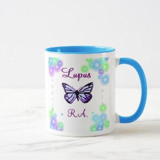 Tasse de papillon de lupus