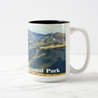 Tasse de parc national de montagne rocheuse