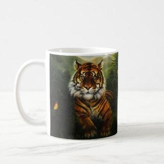 Tasse de paysage de tigre de jungle