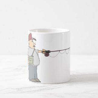 Tasse de pêche d'homme