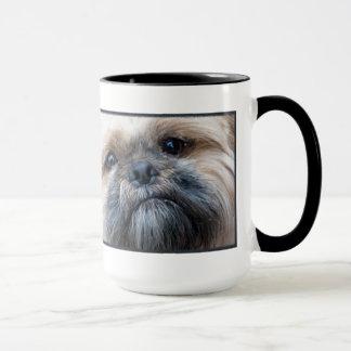 Tasse de photo de chien