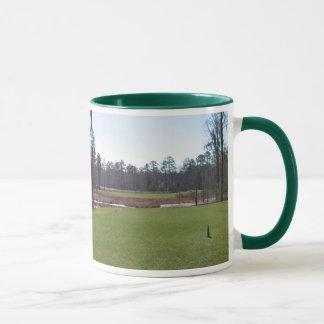 Tasse de photo de terrain de golf