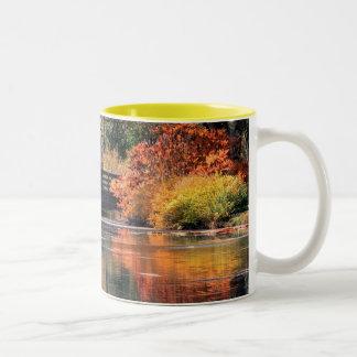 Tasse de pont en automne