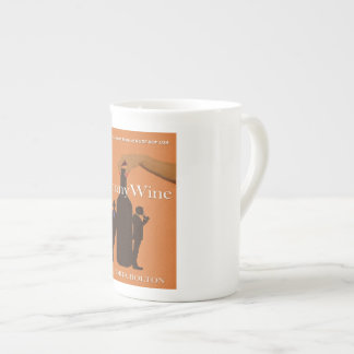 Tasse de porcelaine tendre de BunnyWine