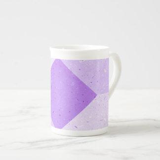 Tasse de porcelaine tendre de conception