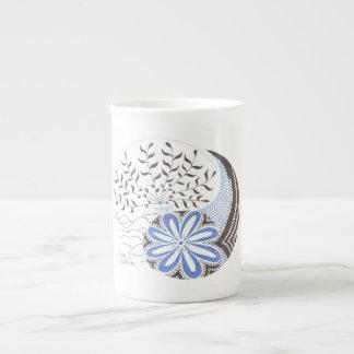 Tasse de porcelaine tendre de HoltZen Yin