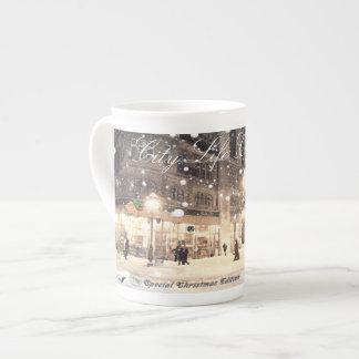 Tasse de porcelaine tendre de la collection #4 de