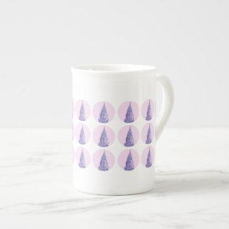 Tasse de porcelaine tendre de New York (Chrysler