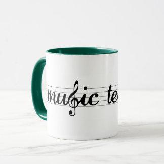 Tasse de professeur de musique