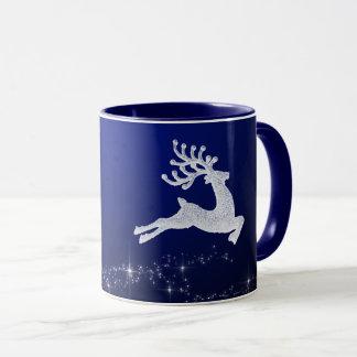 Tasse de renne de Noël