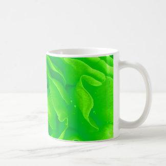 Tasse de rose vert - personnalisable