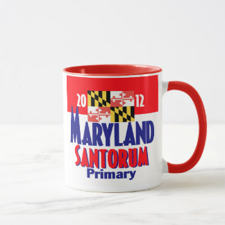 Tasse de Santorum le MARYLAND