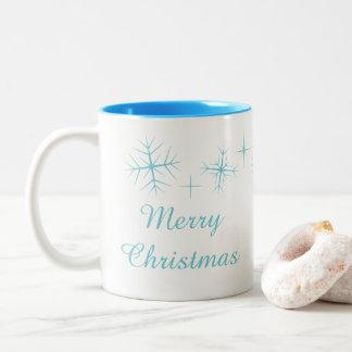 Tasse de scintillement de flocon de neige de Noël