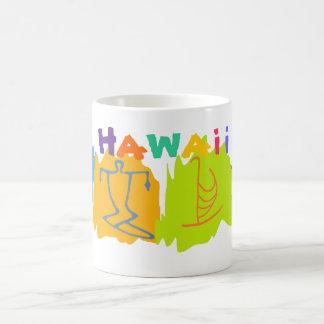 Tasse de souvenir de voyage d'Hawaï