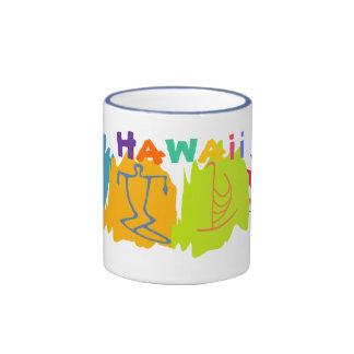 Tasse de souvenir de voyage d'Hawaï - customisée