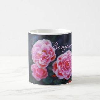 Tasse de surprise de roses