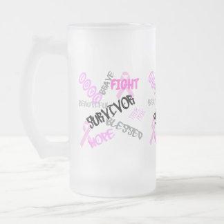 Tasse de survivant de cancer du sein