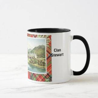Tasse de tartan, clan Stewart royal