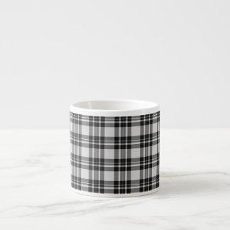 Tasse de tartan de Black&White