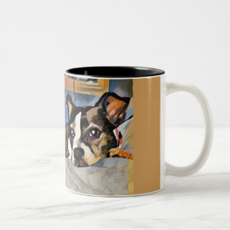Tasse de terrier de Boston