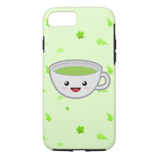 Tasse de thé vert mignonne coque iPhone 7