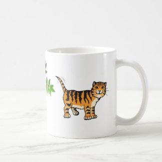 tasse de tigre de chat