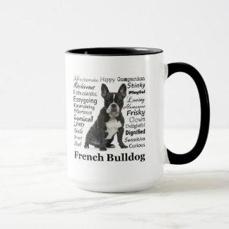 Tasse de traits de Frenchie