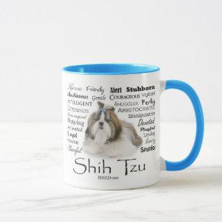 Tasse de traits de Shih Tzu