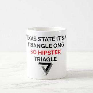Tasse de triangle de hippie