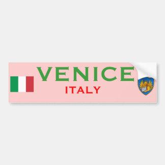 Tasse de Venise (Italie) Autocollant De Voiture
