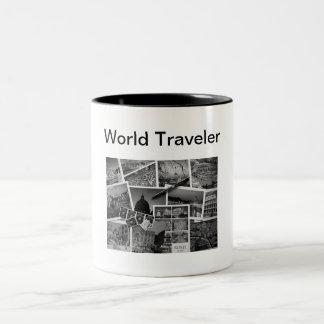Tasse de voyageur du monde