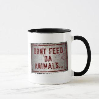 Tasse de Zoe de gorille - n'alimentez pas les