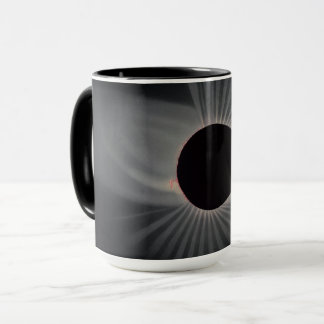 tasse d'éclipse solaire de 1800s